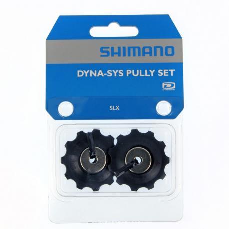 Galets de dérailleur SHIMANO 10v SLX 663 11 dts