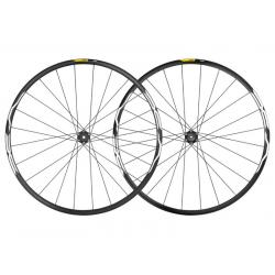 Roues à pneu 27.5p MAVIC vtt XA 27.5 ID360 XD noire décor blanc