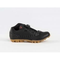 Chaussures BONTRAGER vtt Rhytm noir verni décor beige