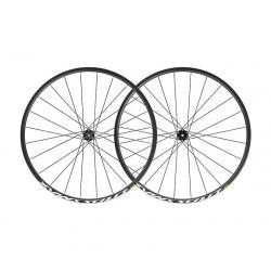 Roues à pneu 27.5p MAVIC vtt Crossmax 27.5 ID360 SH noire décor blanc