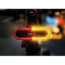 Feu arrière et clignotants COSMO Cosmo Bike noir