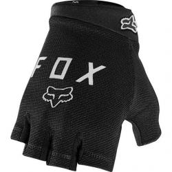 Gants courts VTT - FOX Ranger Gel - Noir décor gris argent