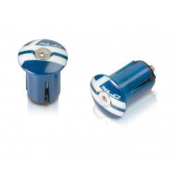 Bouchons de cintre XLC pvc GR X02 bleu et blanc