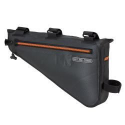 Sacoche de cadre ORTLIEB pvc Frame Pack M F9971 4L ardoise décor orange
