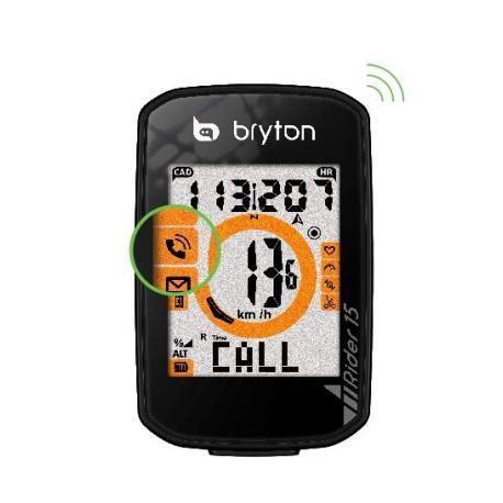 compteur GPS vélo BRYTON Rider 15 - noir