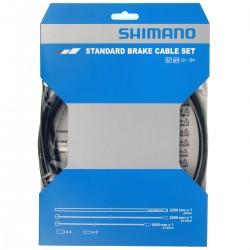 Cables+Gaine SHIMANO frein route vtt acier Standard Brake avant et arrière