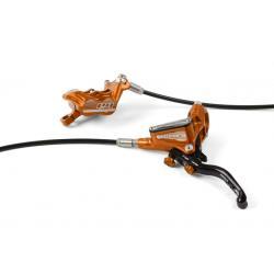 Frein à disque HOPE avant Tech-3 E4 orange levier noir