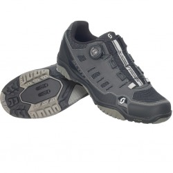 Chaussures SCOTT vtt femme Crus-R Boa Lady gris anthracite décor noir