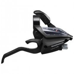 Levier+manette SHIMANO vtt 7v EF500 V-brake Droite noir