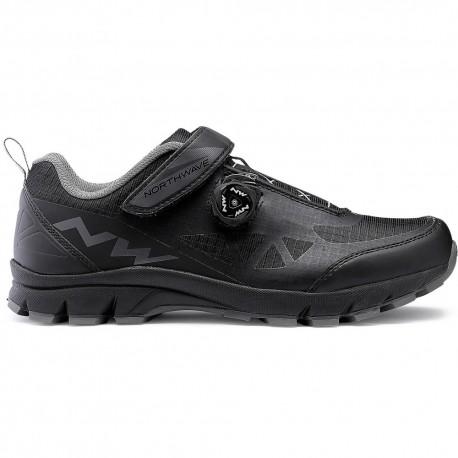 Chaussures NORTHWAVE vtt Corsair noir décor gris