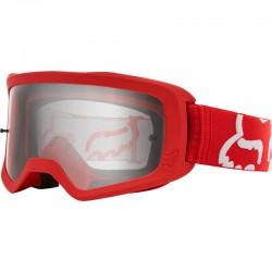 Masque FOX vtt Main Stray rouge décor blanc