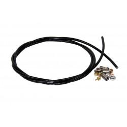 Durite HOPE frein hydraulique 5x170 90/droit noire