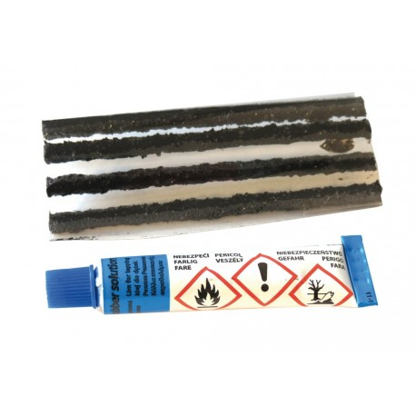 Méches tubeless WELDTITE caoutchouc Tubeless Recharge