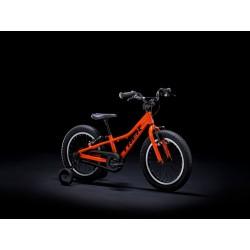 Vélo VTT garçon 3 à 6 ans alu - TREK 2021 Precaliber 16 Boys - Orange Décor noir