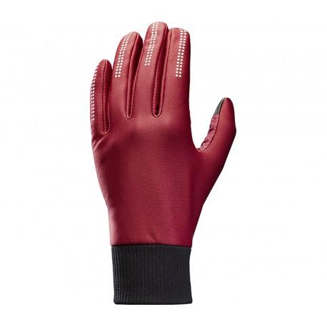 Gants longs MAVIC Essential Wind rouge bordeau
