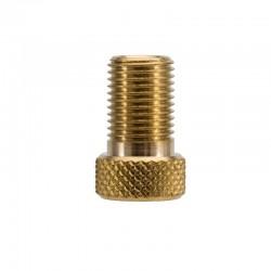 Convertisseur CAFFELATEX de valve Presta (petite valve) en valve Schrader (grosse valve)