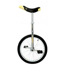 Monocycle 20p QU-AX acier Luxus 20 chrome décor jaune