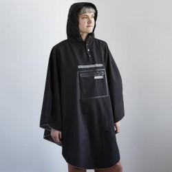 Poncho impermèable THEPEOPLE'SPONCHO polyester RainCare Hardy noir
