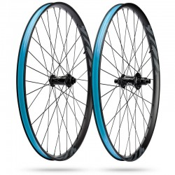 Roues à pneu 29p IBIS vtt S28 i9 Boost alu noir X-Drive
