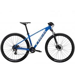 Vélo VTT 27.5p alu - TREK 2021 Marlin 6 - Bleu Alpine Décor argent