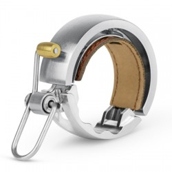 Sonnette KNOG métal Oi Bell Luxe Large 31.8 argent