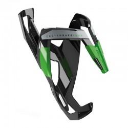 Porte-bidon ELITE nylon route vtt Custom Race+ noir décor vert