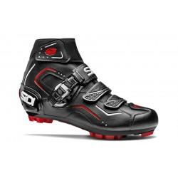 Chaussures SIDI vtt Breeze Rain noir mat décor gris