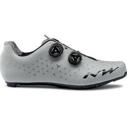 Chaussures NORTHWAVE route Revolution 2 gris argent réfléchissant