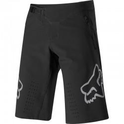 Short FOX vtt Defend noir décor gris