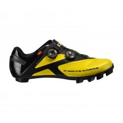 Chaussures MAVIC vtt Crossmax SL Ultimate jaune décor noir