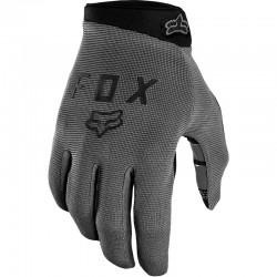 Gants longs FOX vtt Ranger Gel gris décor noir