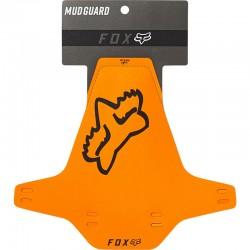Garde-boue FOX pvc vtt avant Mud Guard orange décor noir