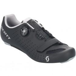 Chaussures SCOTT route Road Comp Boa noir mat décor gris argent