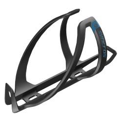 Porte-bidon SYNCROS 2020 composite carbon route vtt Coupe 1.0 noir mat décor bleu Ocean Blue