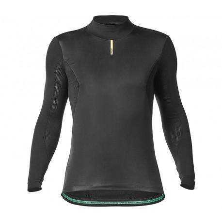 Sous-vêtement manches longues MAVIC Wind Ride noir décor vert