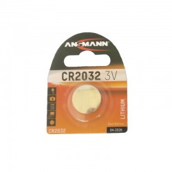 Pile ANSMANN plate Lithium 3v CR-2032