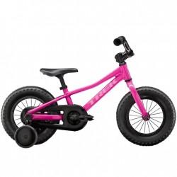 Vélo VTT fille 2 à 5 ans 12p alu - TREK 2021 Précaliber 12 Girls - Rose Flamingo Décor rose