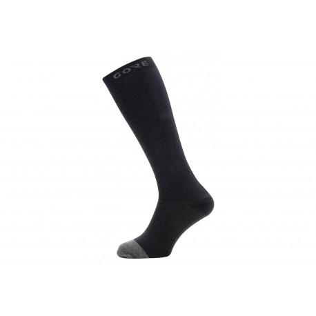 Chaussettes GORE hiver M Thermo noir décor gris