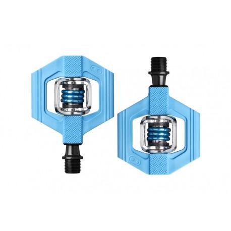 Pédales CRANKBROTHERS composite vtt xc Candy 1 bleu