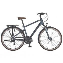Vélo urbain homme 28p alu - SCOTT 2021 Sub Comfort 20 Men - Anthracite Décor gris