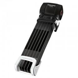 Antivol lame pliable - TRELOCK Cops FS460/100 - noir support noir