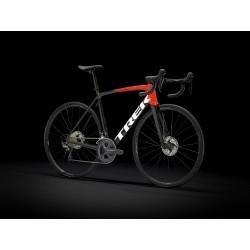 Vélo course TREK 2021 Emonda SL 6 - Noir et rouge/ Décor blanc