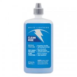 Lubrifiant cire WHITE LIGHTNING chaine Clean Ride 235