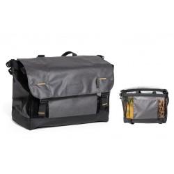 Sac marché BURLEY supérieur Upper Market Bag 22 noire décor gris