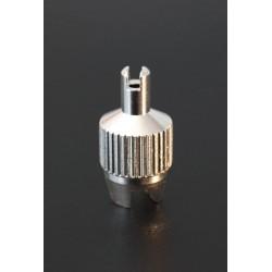 Démonte obus CLASSIQUE laiton pour valve Schrader ou Presta