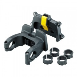 Support de guidon - TOPEAK fixation Fixer-3E VAE QuickClick de 25.4 à 31.8mm