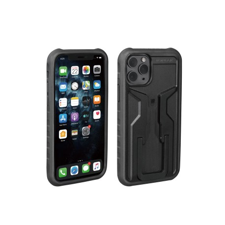 Support téléphone TOPEAK iPhone 11 Pro RideCase noir