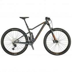 Vélo VTT 29p alu - SCOTT 2021 Spark 960 - Gris anthracite décor orange