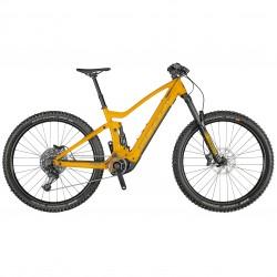 Vélo électrique VTT 29p alu - SCOTT 2021 Genius eRide 930 625 - Orange décor noir