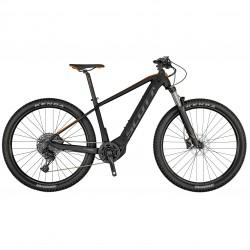 Vélo électrique VTT 29p alu - SCOTT 2021 Aspect eRide 920 625 - Gris anthracite décor noir et orange